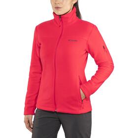 Columbia Fast Trek II - Chaqueta Mujer - rojo